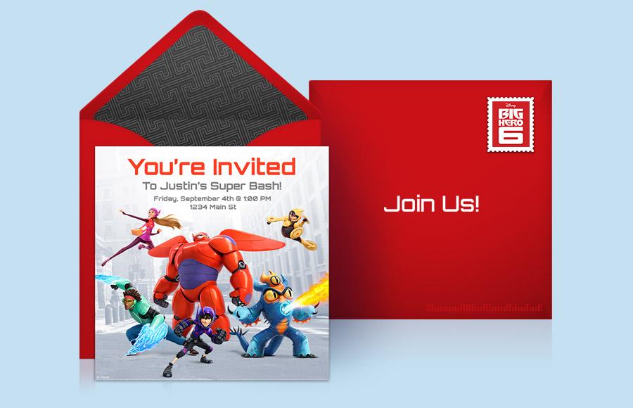 Plan a Big Hero 6 Party!
