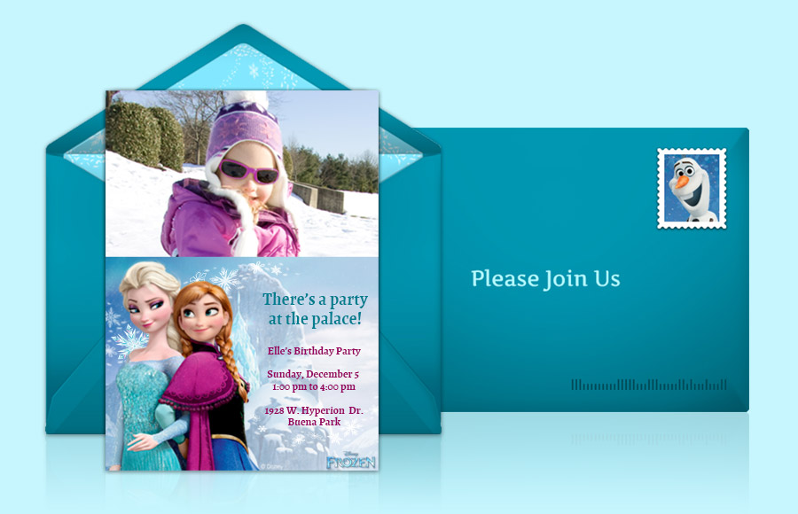 Plan a Frozen Party!
