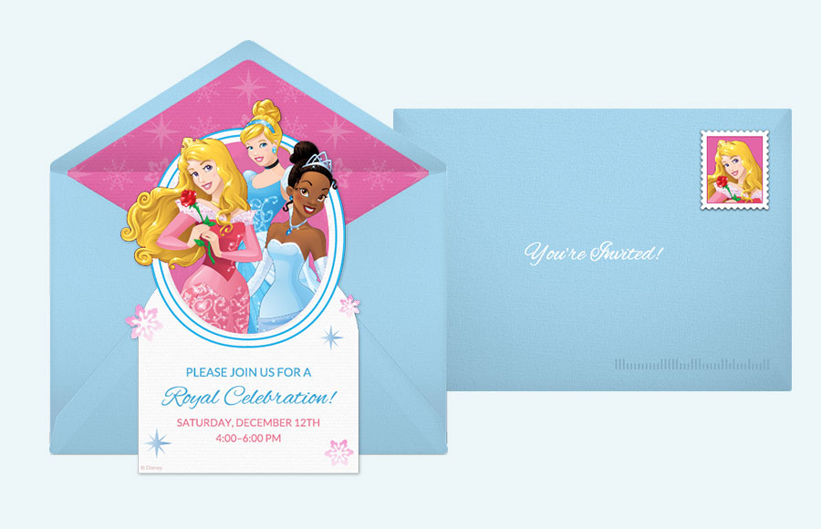 Plan a Disney Princess Winter Party!