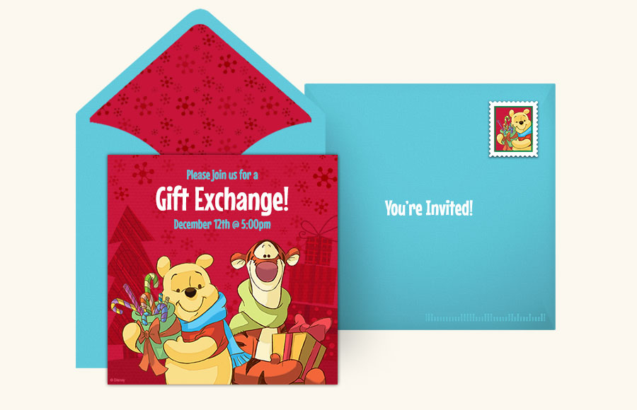 Plan a Winnie the Pooh Holiday Party!
