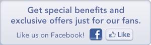 Facebook like 300x90