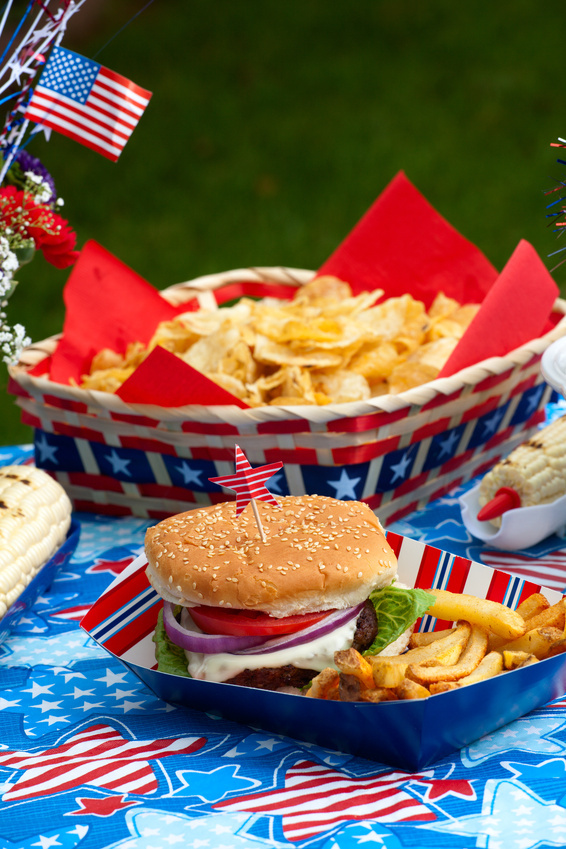 4th of July burger ideas