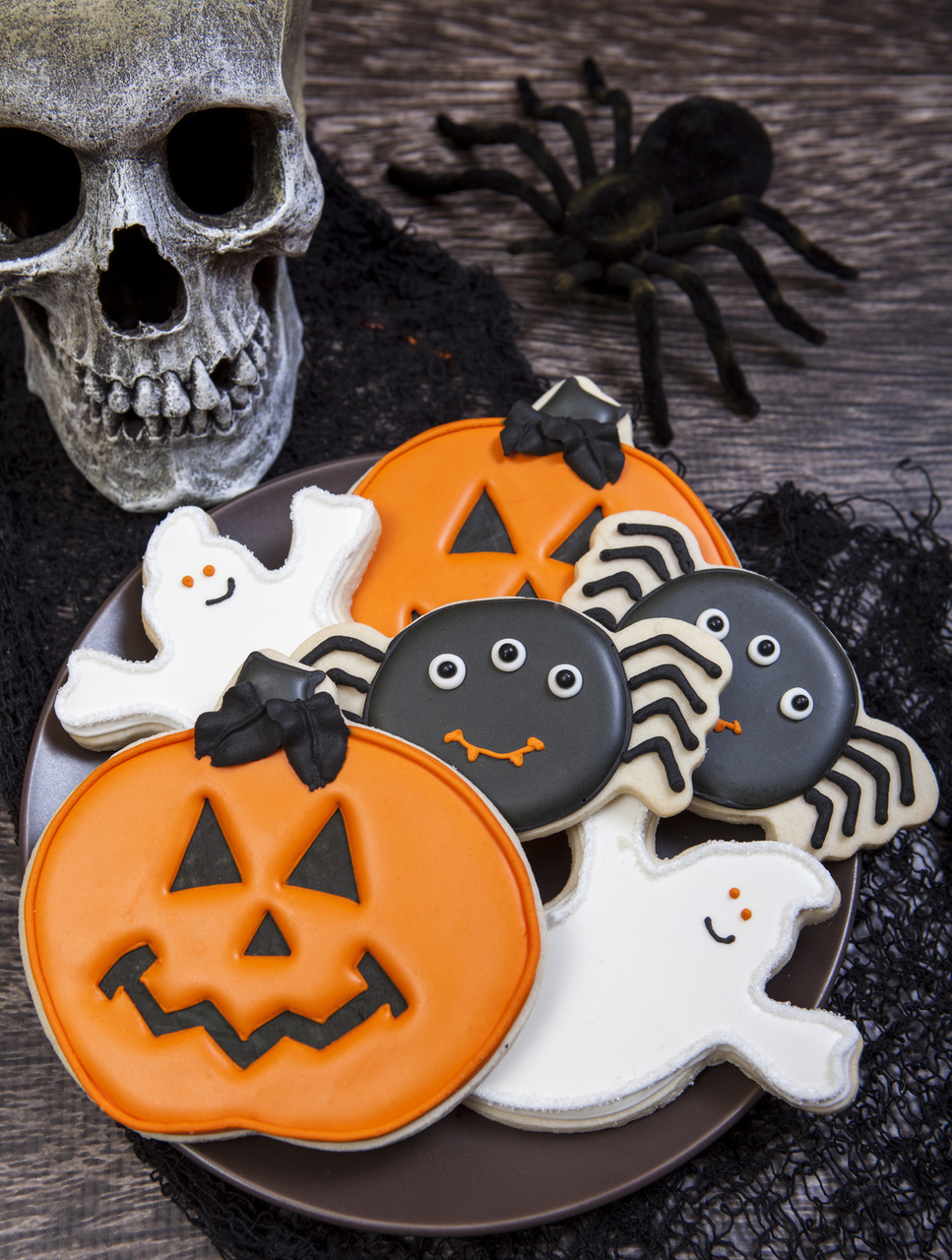 Spooky Cookie: Halloween Cookie Decorations