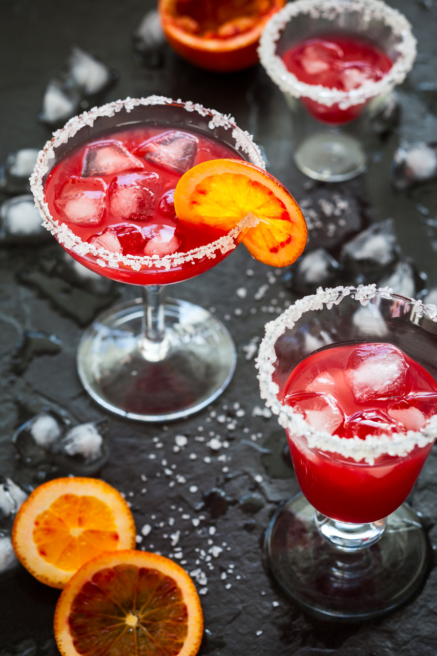 Halloween Cocktail Recipe: Blood Orange Margarita