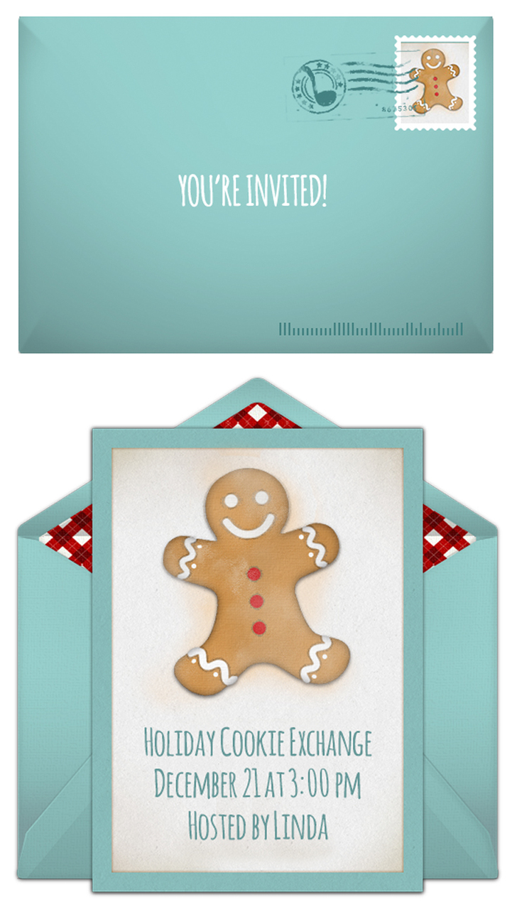 Free Cookie Exchange invitations