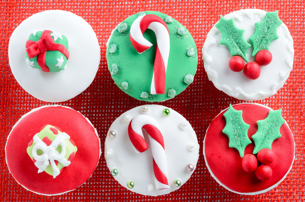 Candy Cane Cupcakes Recipe