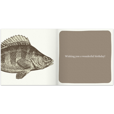 birthday fish for him  free birthday card for him, happy birthday, Birthday card