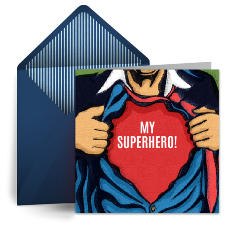 birthday superhero  free birthday card for him, happy birthday, Birthday card