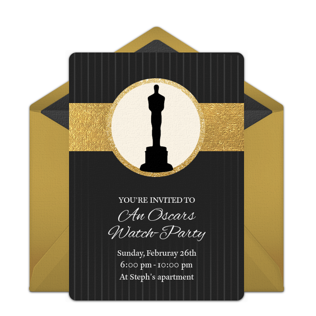 Free Award Shows Invitations