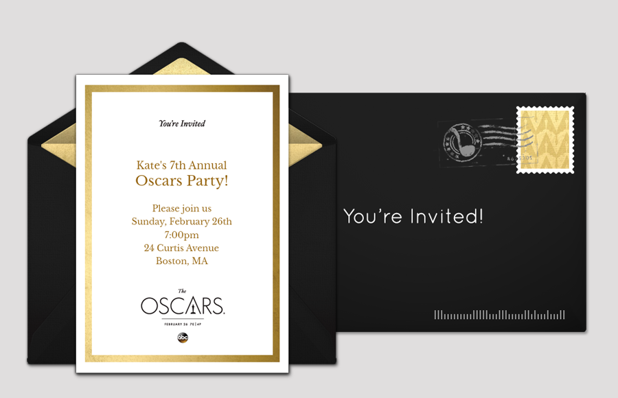 Plan a Oscars Night Party!