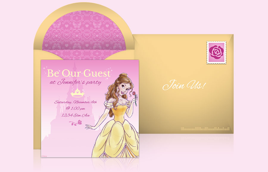 Plan a Belle Party!