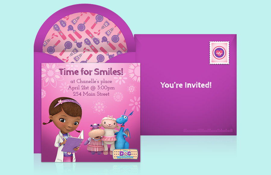 Plan a Doc McStuffins Party!