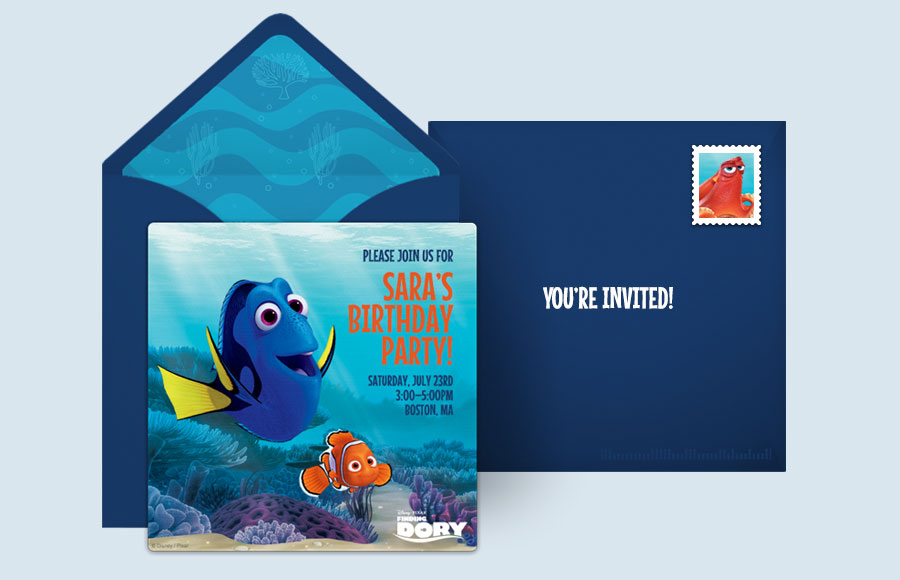 Plan a Finding Dory Party!
