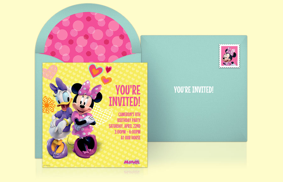 Plan a Minnie and Daisy Party!